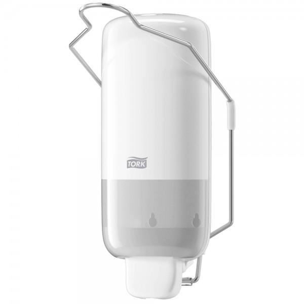 Tork Seifen-/Desinfektion Spender S1 mit Armhebel / 560100 / weiss