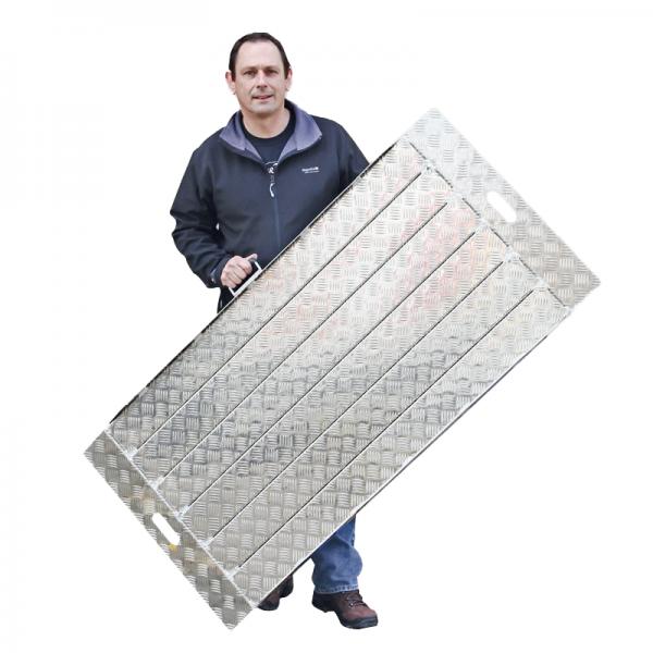 Auffahrrampe aus Aluminium 180-92