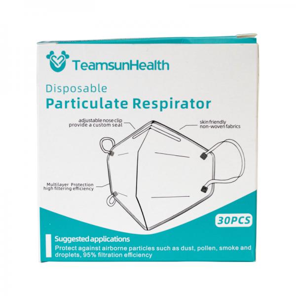 TeamsunHealth KN95/N95 30x Atemschutzmasken nach CPA zertifiziert