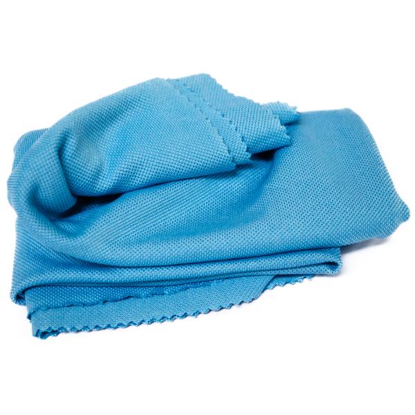 Mikrofaser-Glanztuch/Fenstertuch, blau