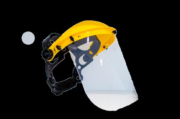 Gesichtsschutz mit Kopfband
