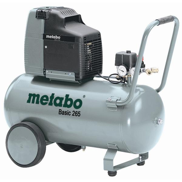 Metabo Basic 265 - Druckluftkompressor 125 l/min - 8 bar