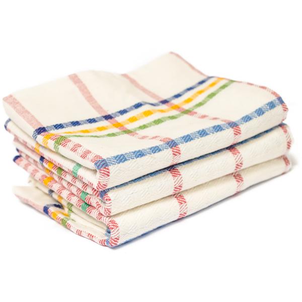 MASTA Geschirrtücher 100% Baumwolle, 3er Pack