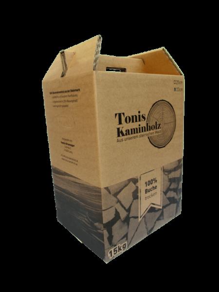 Toni's Kaminholz 15kg Karton