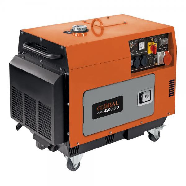 GLOBAL GPG 4200DD Dieselgenerator 4200 W/400 V 3~