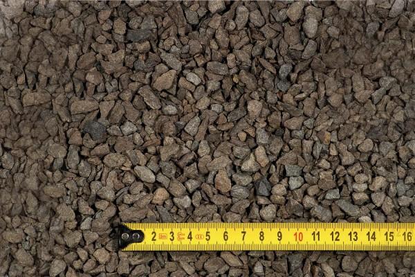 Basalt-Streusplitt, Anthrazit, 4-8 mm, 25 kg